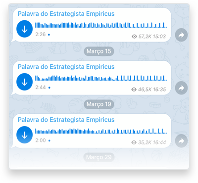 Canal Exclusivo no Telegram